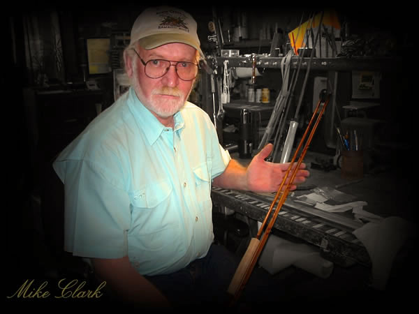 Custom Bamboo Fly Fishing Rods and Reels By Michael D Clark - South Creek LTD